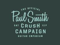 Paul Smith Crush Campaign