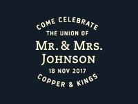 Mr. & Mrs. Johnson