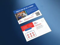 Plumber Review Request Postcard