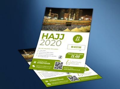 Hajj Flyer Design