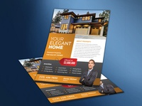 House For Sale By Owner Real Estate Flyer