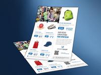 Sports Item Shop Flyer Template