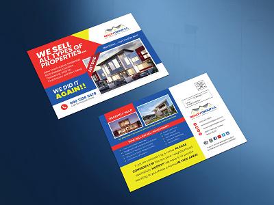 Real Estate Realtor Marketing EDDM Postcard realtor marketing postcard realtor real estate marketing postcard real estate just sold real estate just sold postcard