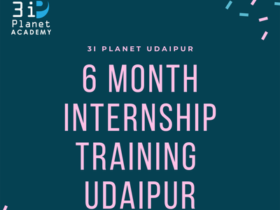 6 month internship training in udaipur 3i planet academy