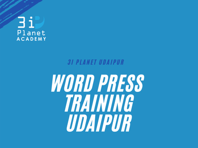 word press traiing in udaipur 3i planet academy