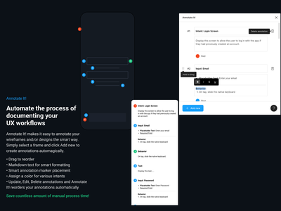 Annotate It! Figma Plugin workflows ux notes handoff figma