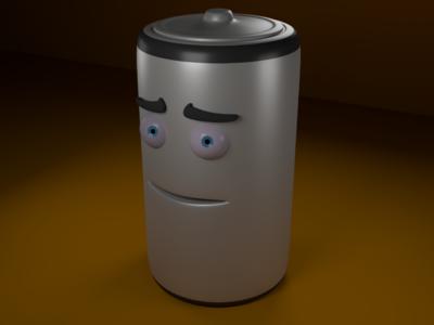 Battery Man Textured