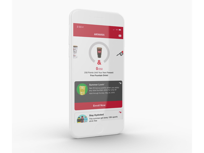 Latest Project - Kum & Go App Redesign case study ux design