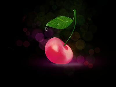 That cherry idea illustration