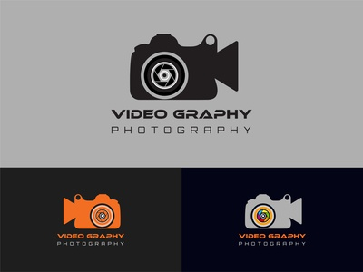 Creative Videography & Photography Logo Template best logo app icon vector concept design dribbble best shot trendy camera logo visual design color photography best logodesign logo videography