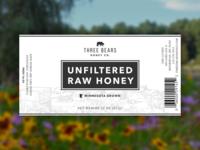 Three Bears Honey Label WIP