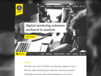 OpGo Marketing Website WIP