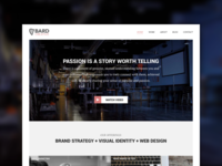 Bard Creative Website Redesign