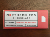 Northern Red Chocolate Label