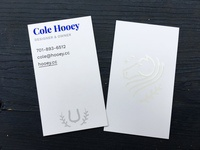 Hooey business cards 1