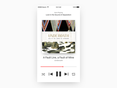 Music Player Concept web design web mobile ios music player music ui design ui