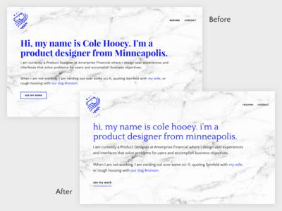 Typography Update