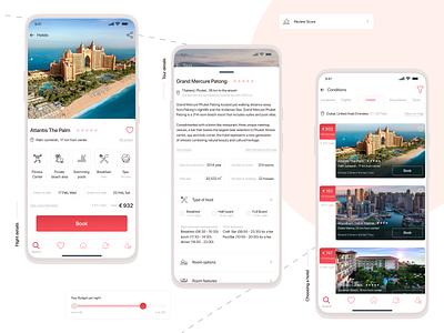 Travel   Mobile App mobile app mobile design mobile ui mobile travel app traveling app travel website advertising webdesign design typography ux ui colorful designer web