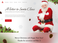 A letter to Santa   First screen