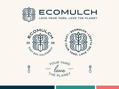 Ecomulch Logo System logo branding logo design brand design adobeillustrator vector adobe illustrator