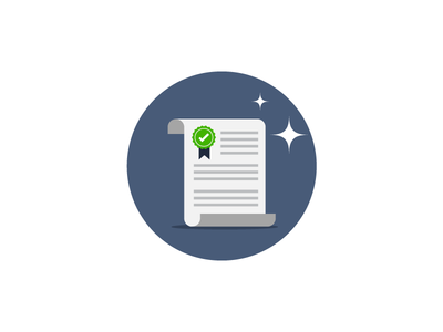 Document Contract vector icon shine business sla contract paper document
