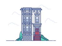 SF Victorian House