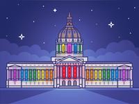 Civic Center City Hall Pride
