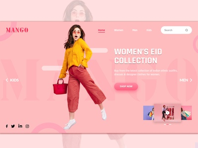 Fashion Banner Design icon ux web branding typography ux design ux desgin graphic design design ui design