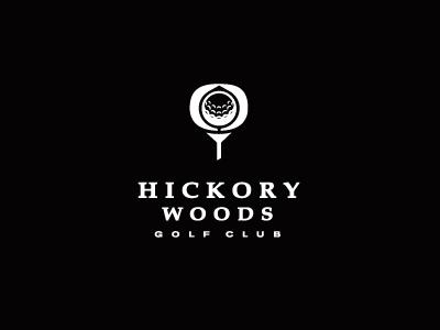 Hickory Woods Golf Club Logo golf club ball sports athletics
