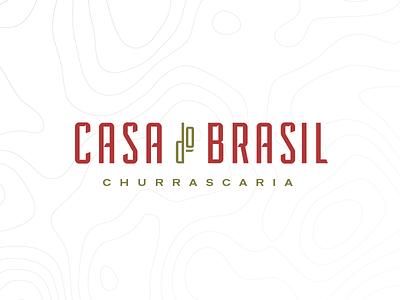 Casa Do Brasil food green red restaurant brasil brazilian steakhouse