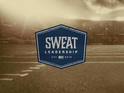 Sweat Leadership navy sweat athletics leadership nostalgia football