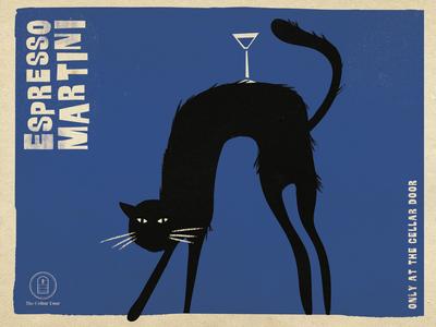 Black Cat Martini