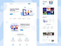 AgencyPil - Digital Marketing Website landing page