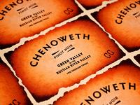 Chenoweth 2012 Vintage Labels
