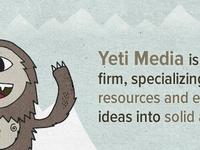 Yeti Media Homepage