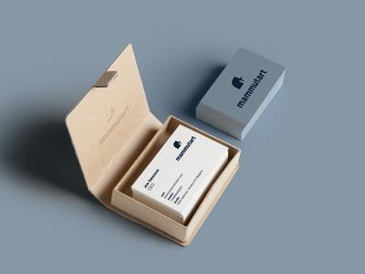 """Business Card """"Mammutart"""""""