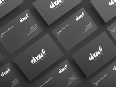 """dmf"" business cards"