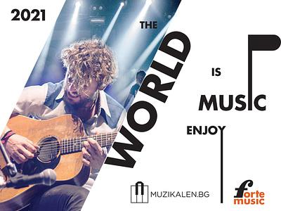 Music Poster Design typogaphy music poster art poster design poster