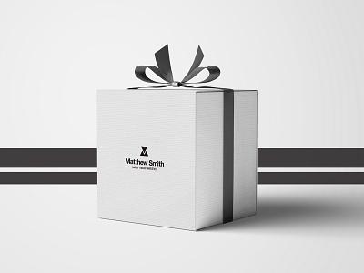 Watch Gift Box minimalism logotype packaging design gift box watch package design brand design logo