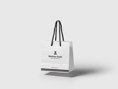 Shop bag design branding identity design logo brand identity watch shopbag bag shopping