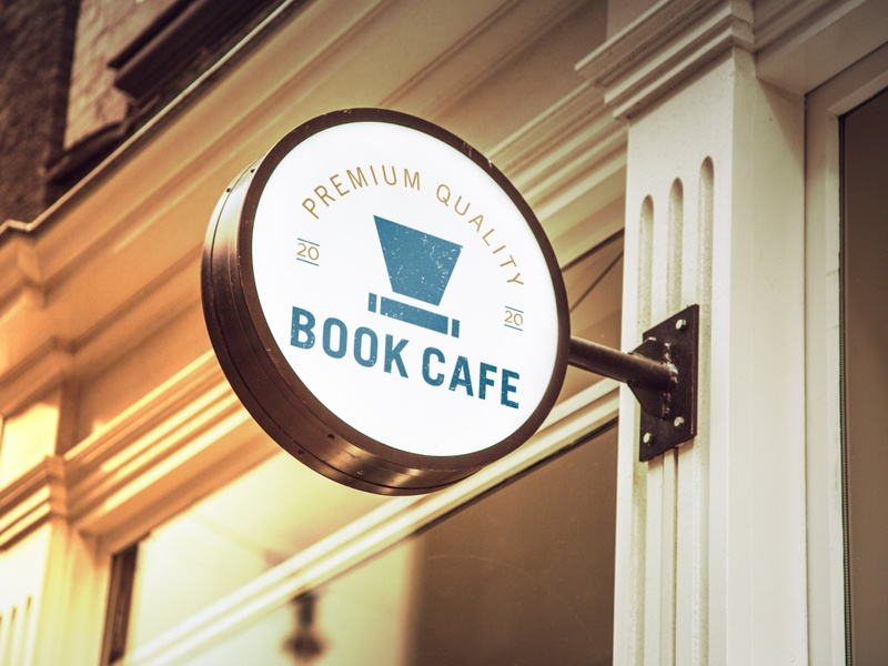 Branding and Packing design for Book Cafe