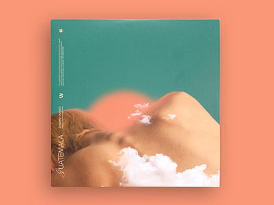 Guatemala - Single cover cover art direction lettering cover design music album artwork spotify disc packshot album cover design album artwork