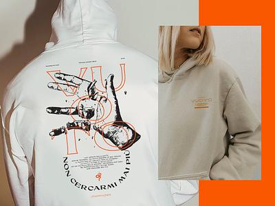 Vuoto fashion streetwear merchandise music texture hoodie illustration typography tshirt