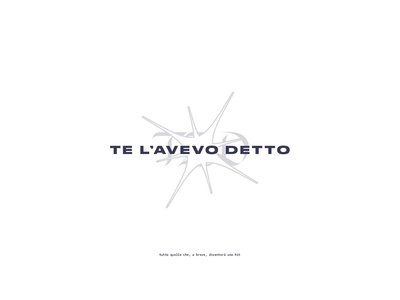 TAD - Logo typeface font lettering playlist spotify podcast music logo