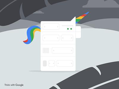 Google Machine Learning - Myth or Reality? machine learning unicorn illustration google