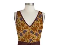 Autumn pattern dress
