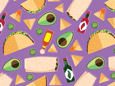 Pattern Design - Taco Tuesday