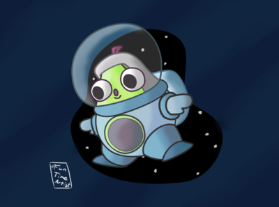 Space avocado🌌