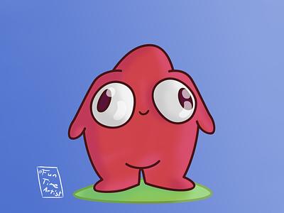 NumNum! funny cute bigeyes baby hug december chubby artwork illustration creaturedesign numnum