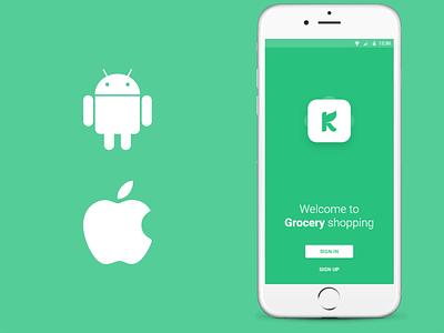 Grocery Online Shopping App Design mobile application mobile app design mobile app app design